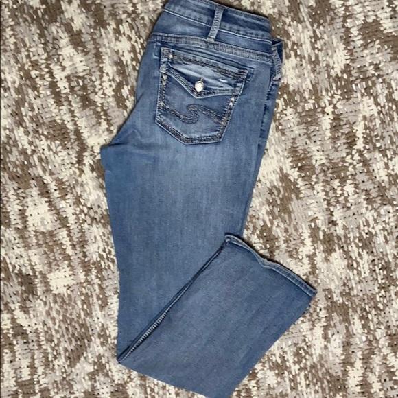 Silver jeans suki 34x33